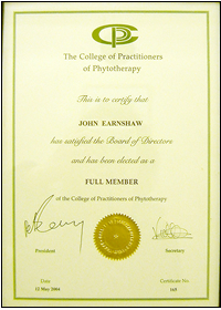 CPP Certificate